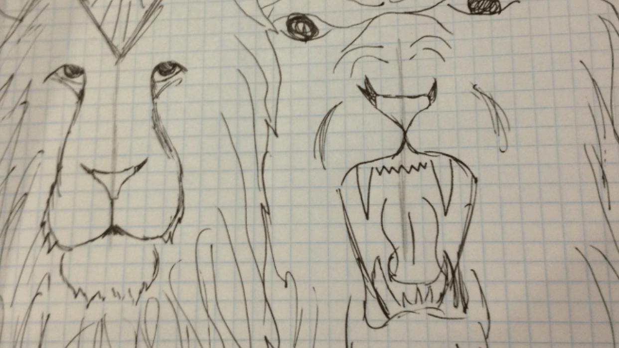 Quiet Lion, Loud Lion - student project