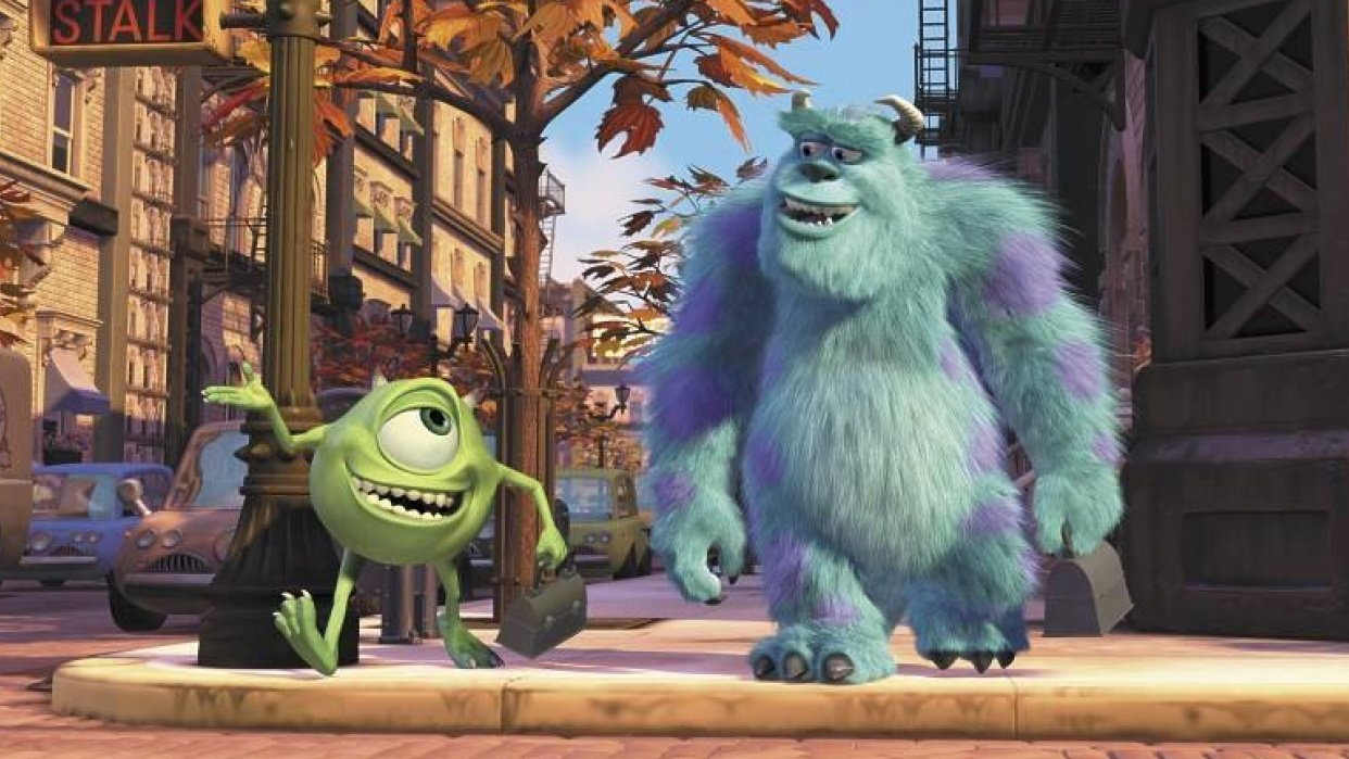 Mike & Sully Walk to Work - student project