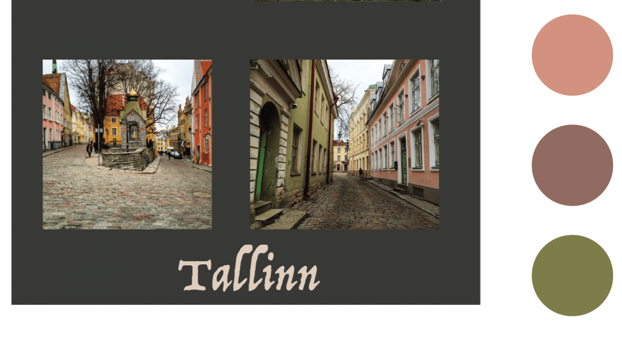 Colors of Tallinn - student project