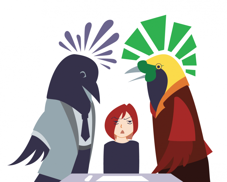 Office with Birds - student project
