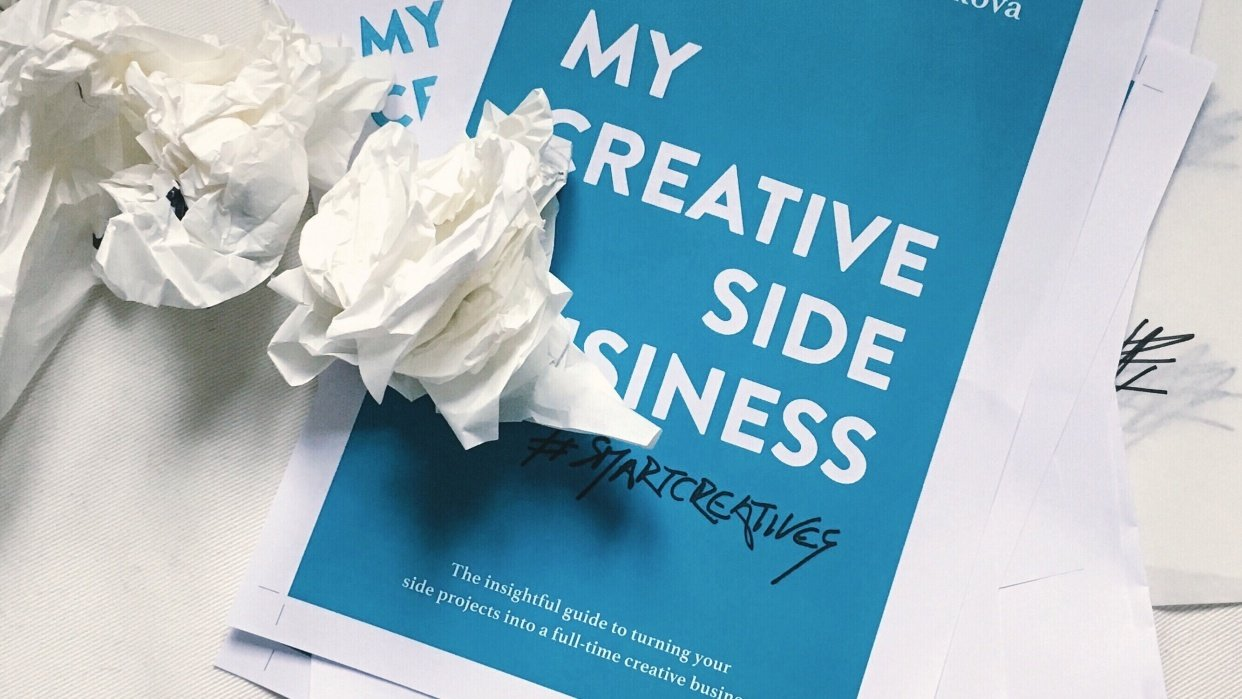 My Creative (Side) Business: a guide for creative freelancers - student project