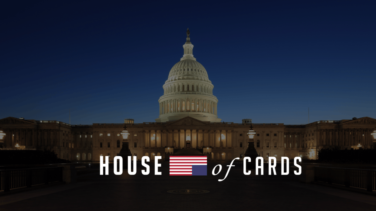 House of Cards Intro Video - student project