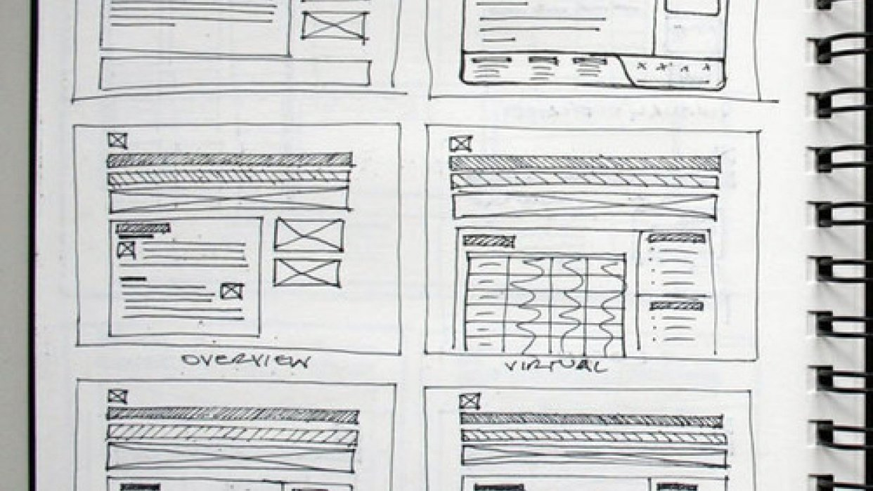 Create a Wireframe - student project