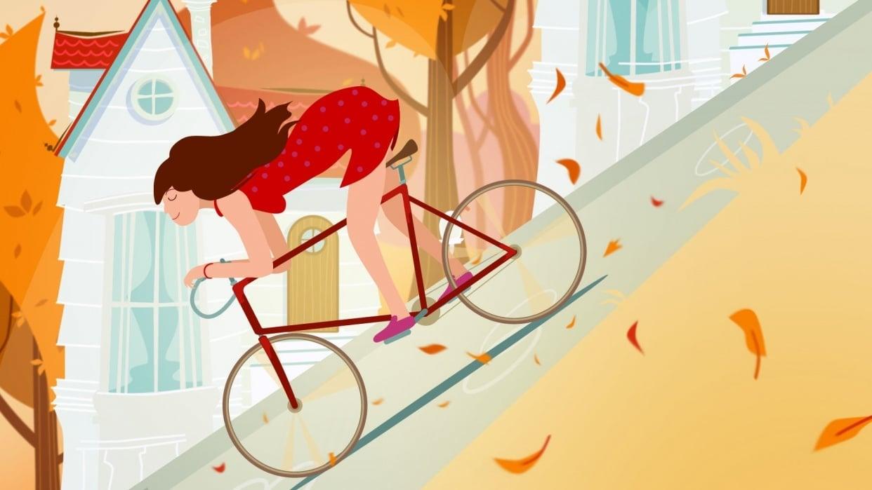 Slope Illustration - student project