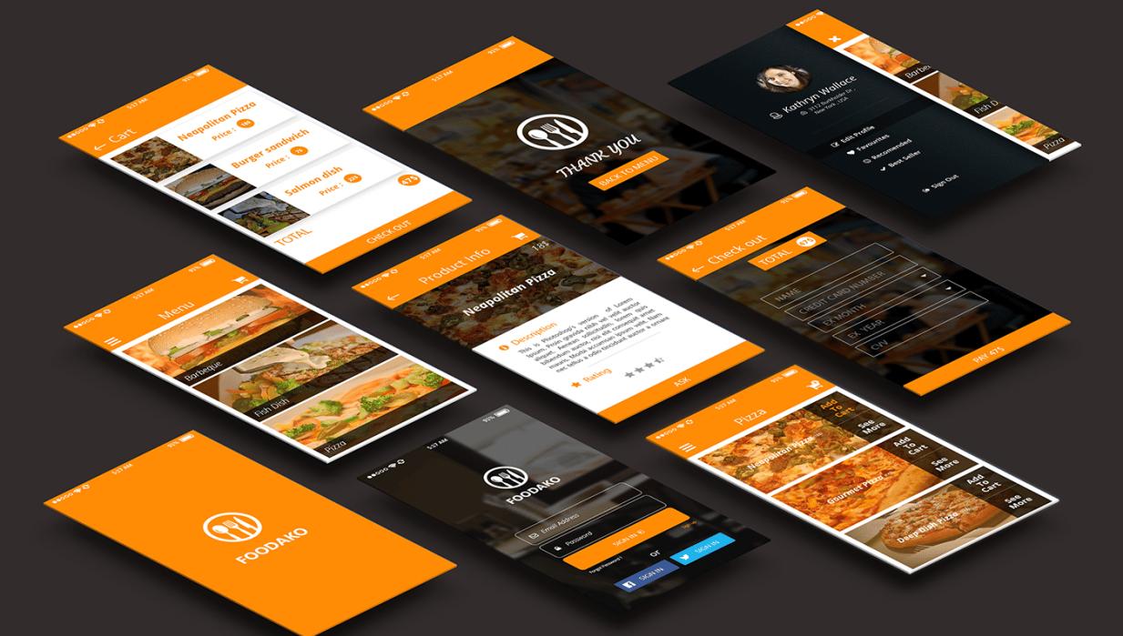 Mobile app design  - student project