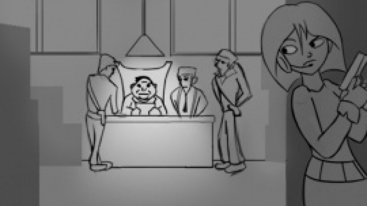 Secret Agent Storyboard Project 1 - student project