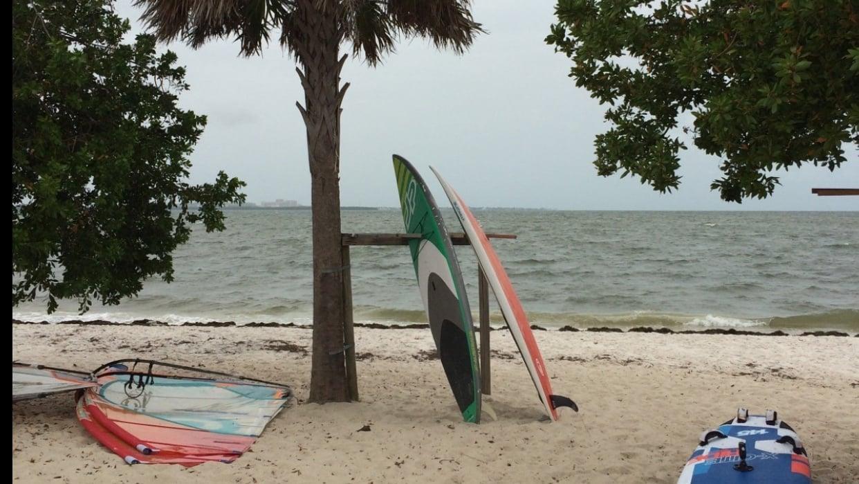 Rainy Beach Day - student project