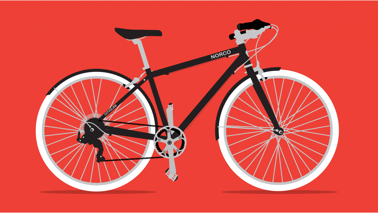 My Bike! (Actually mostly Kristin's) - student project