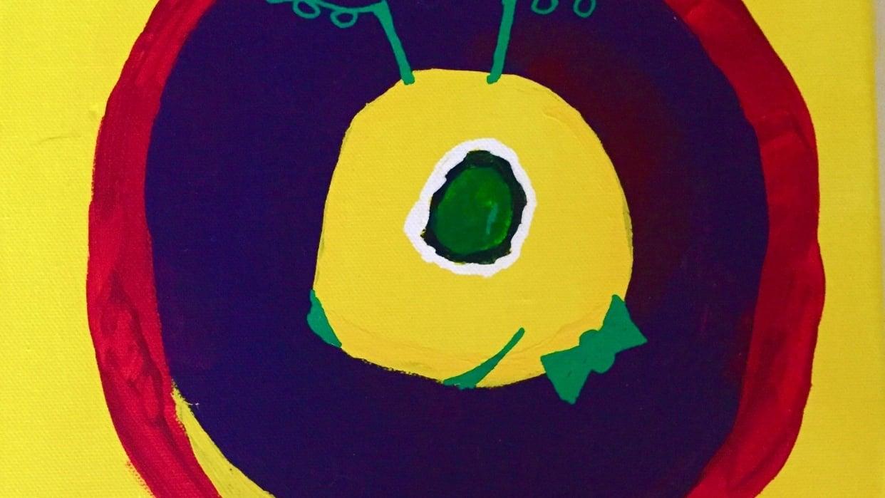 Kandinsky Circle Meets Alien - student project