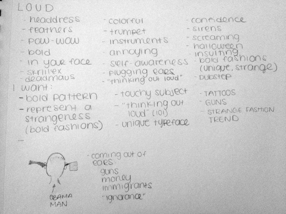 Loud - Tina Floersch - student project