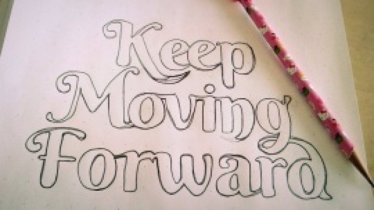 Keep Moving Forward - student project