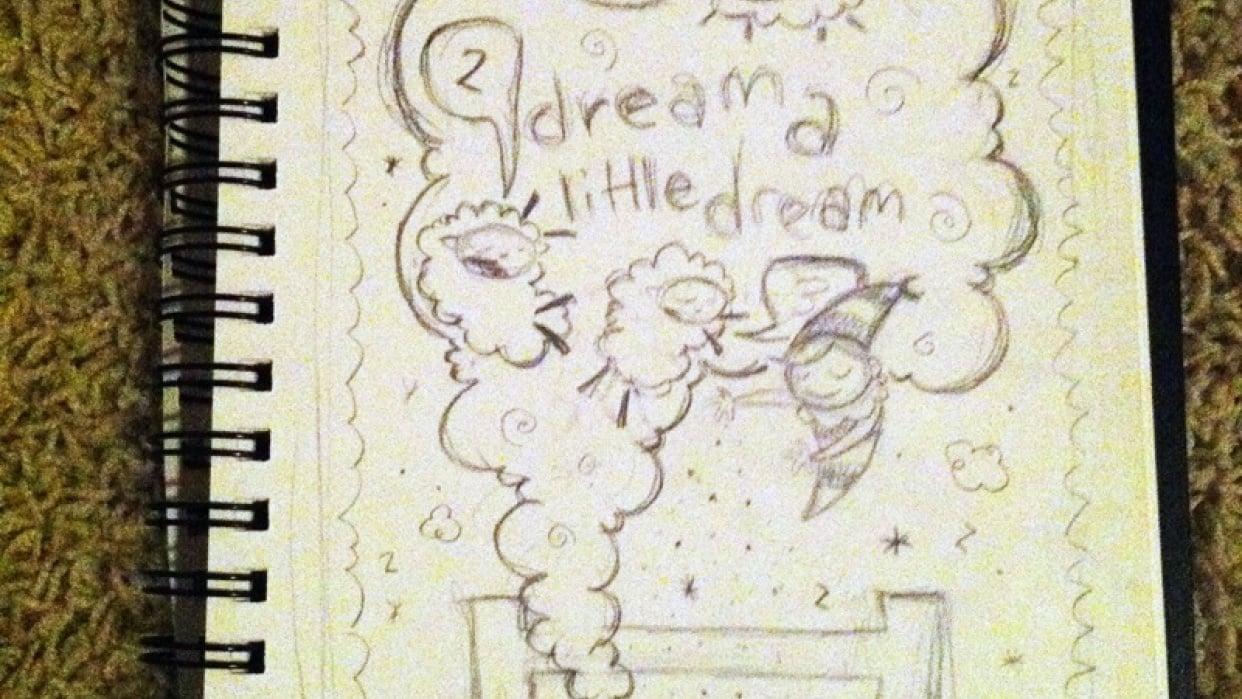 Quiet   Dream A Little Dream - student project