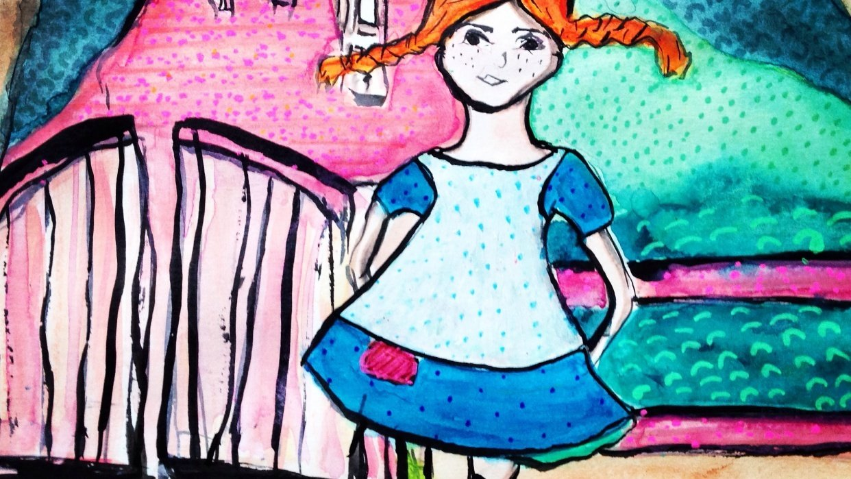 Pippi Longstocking - student project