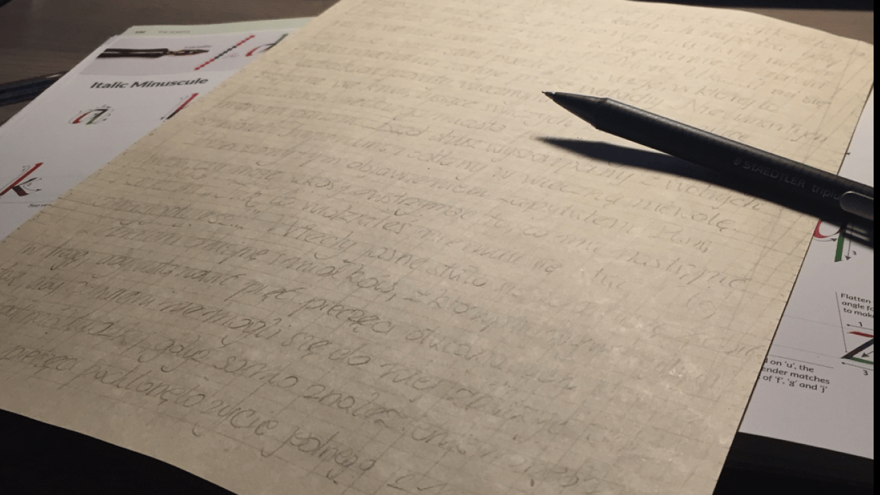 Practicing on a text written for RPG session is demanding! - student project