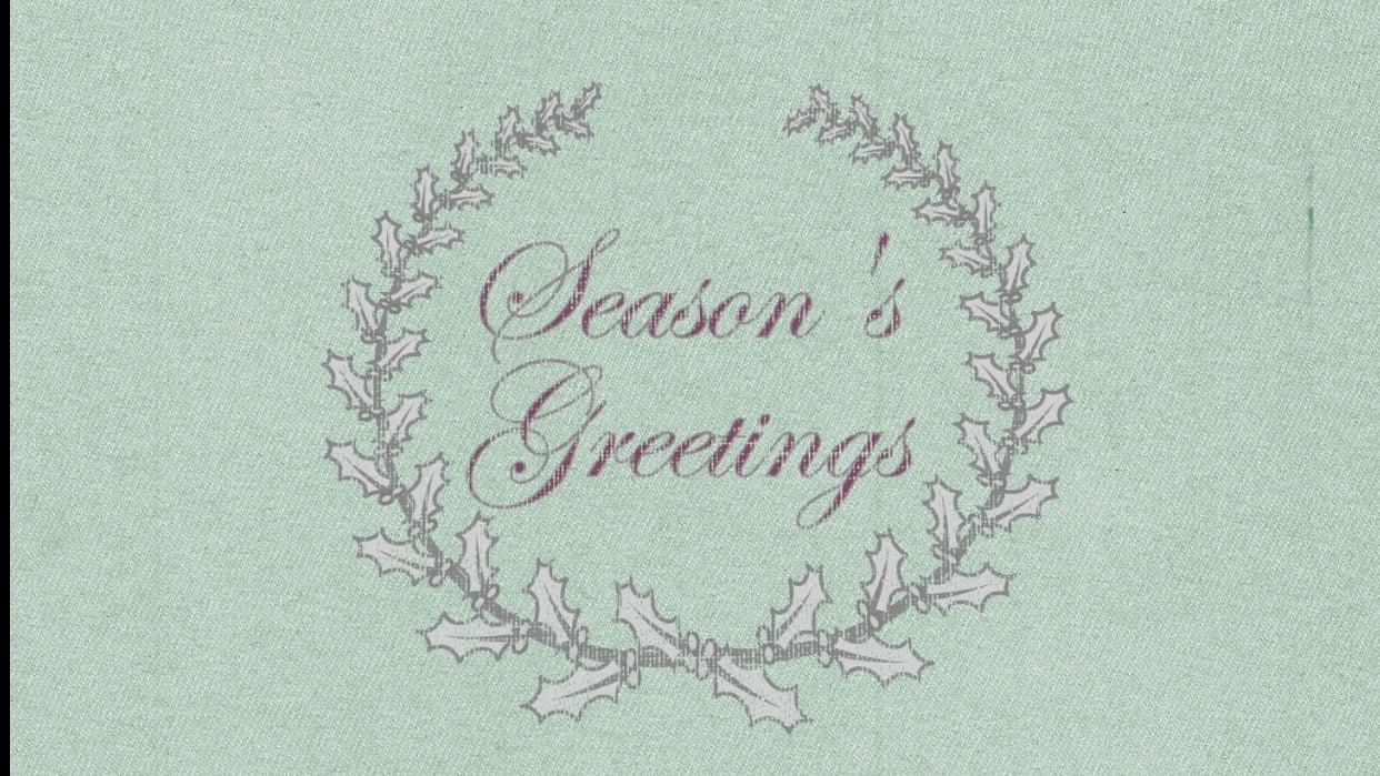 Season's Greetings - student project