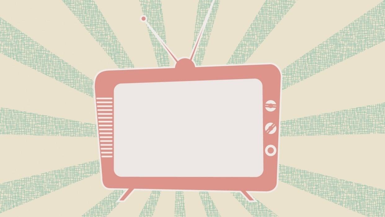 Retro TV - student project