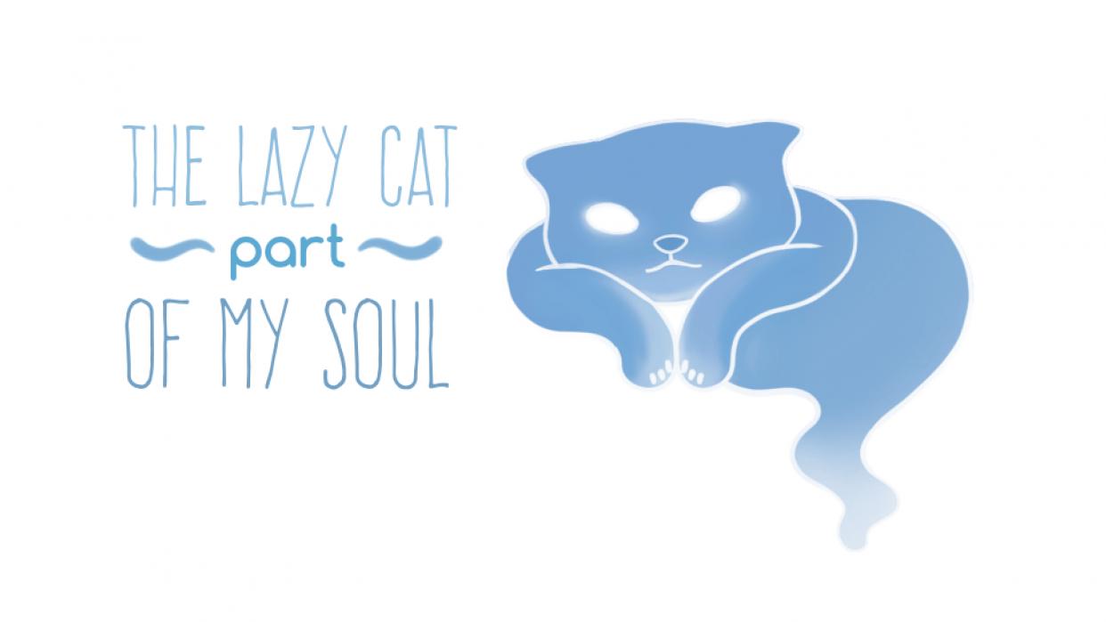 Laziest cat's spirit of them all - student project
