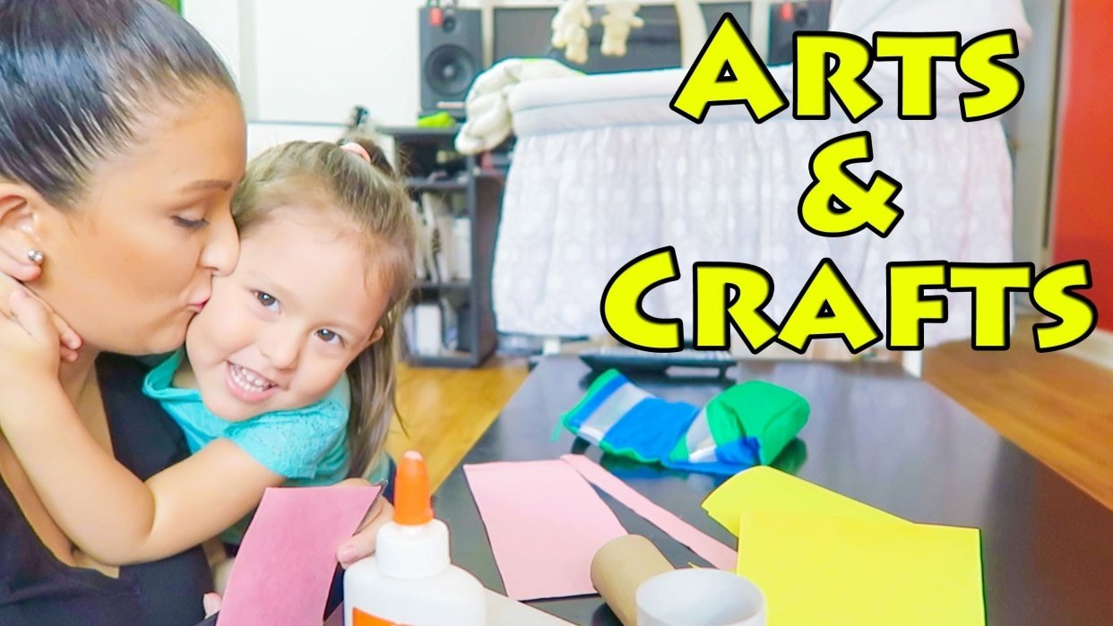 Make exciting Art and Crafts for children - student project