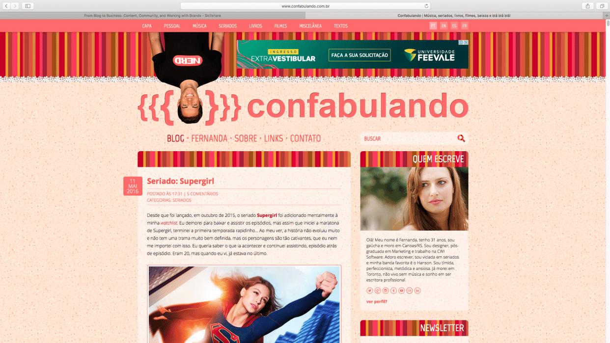 Confabulando - student project