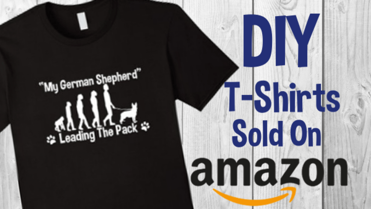 EZ T-Shirt Designs ✦ Sell On Amazon For Free - student project