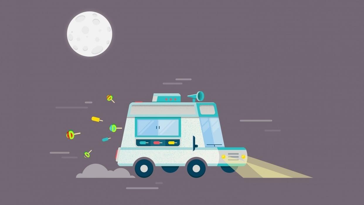 Ice-cream Truck - student project