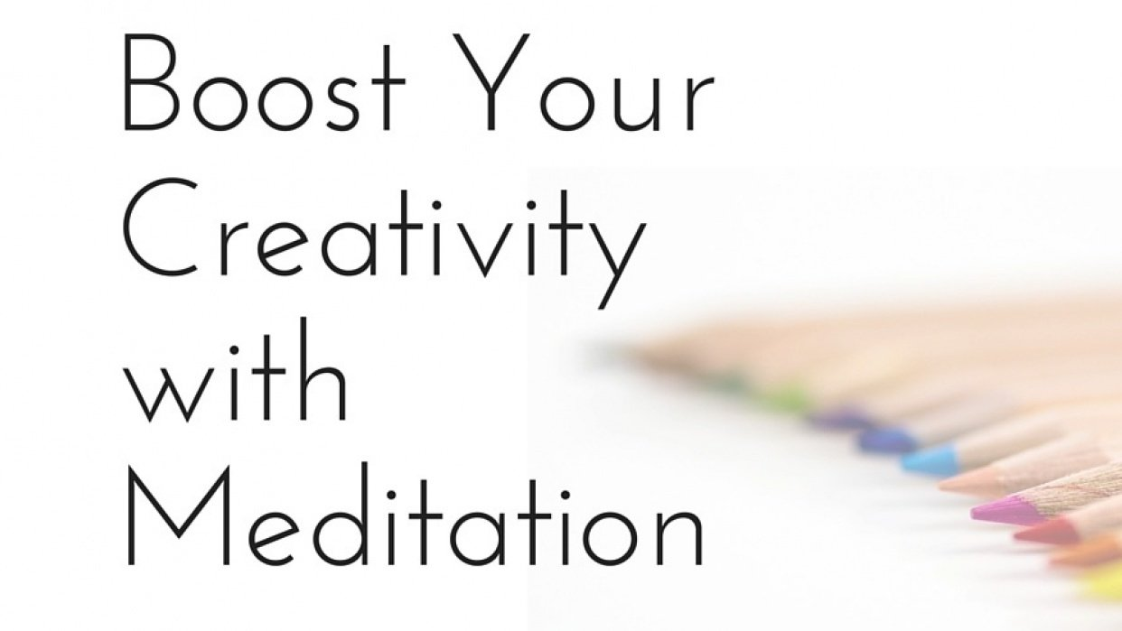 Boost Your Creativity with Meditation - student project