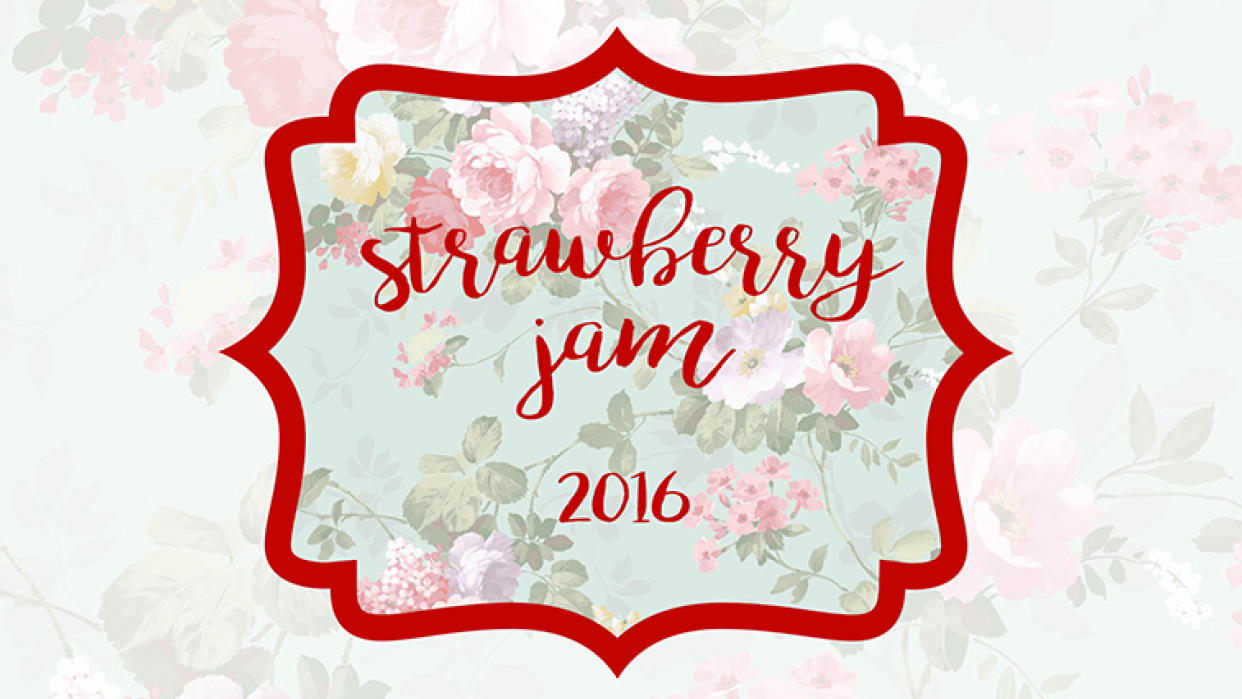 Strawberry jam - student project