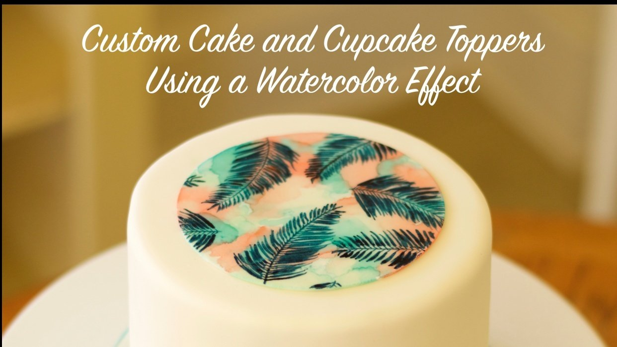 Watercolour Effect on Sugar: Marketing - student project