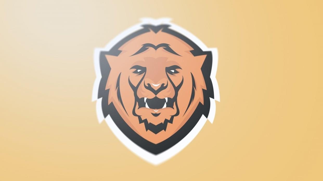 Lion Logo - student project