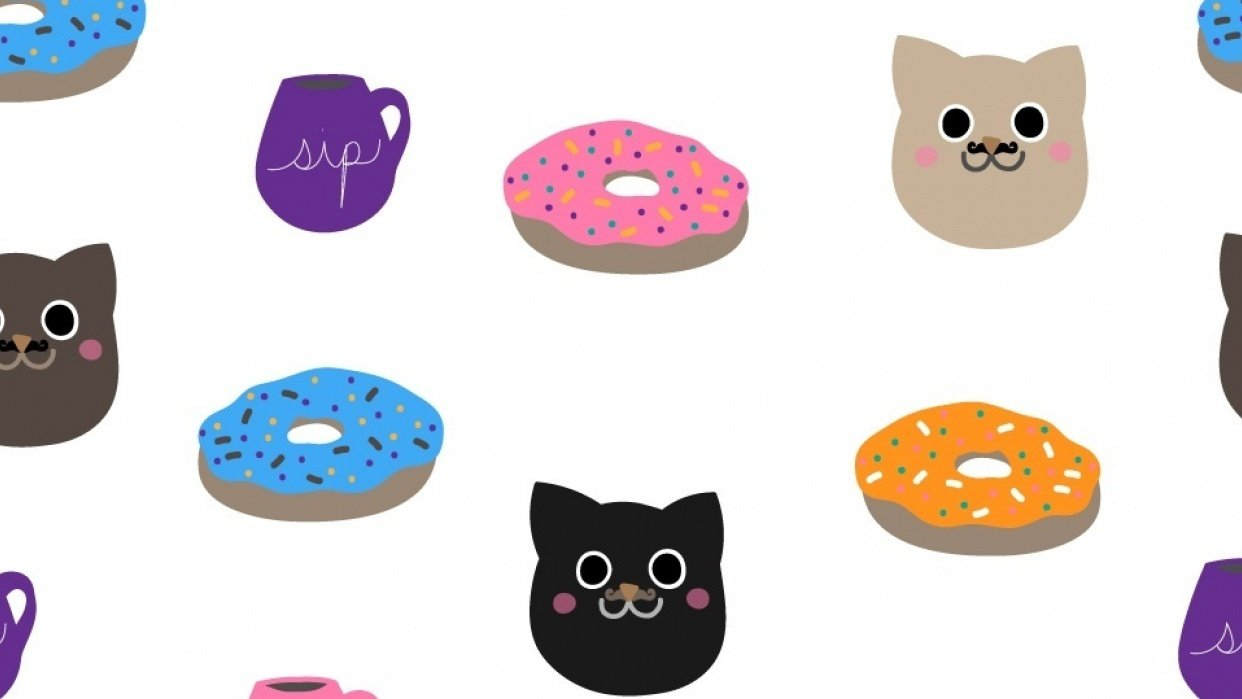 Cats and Donuts - student project