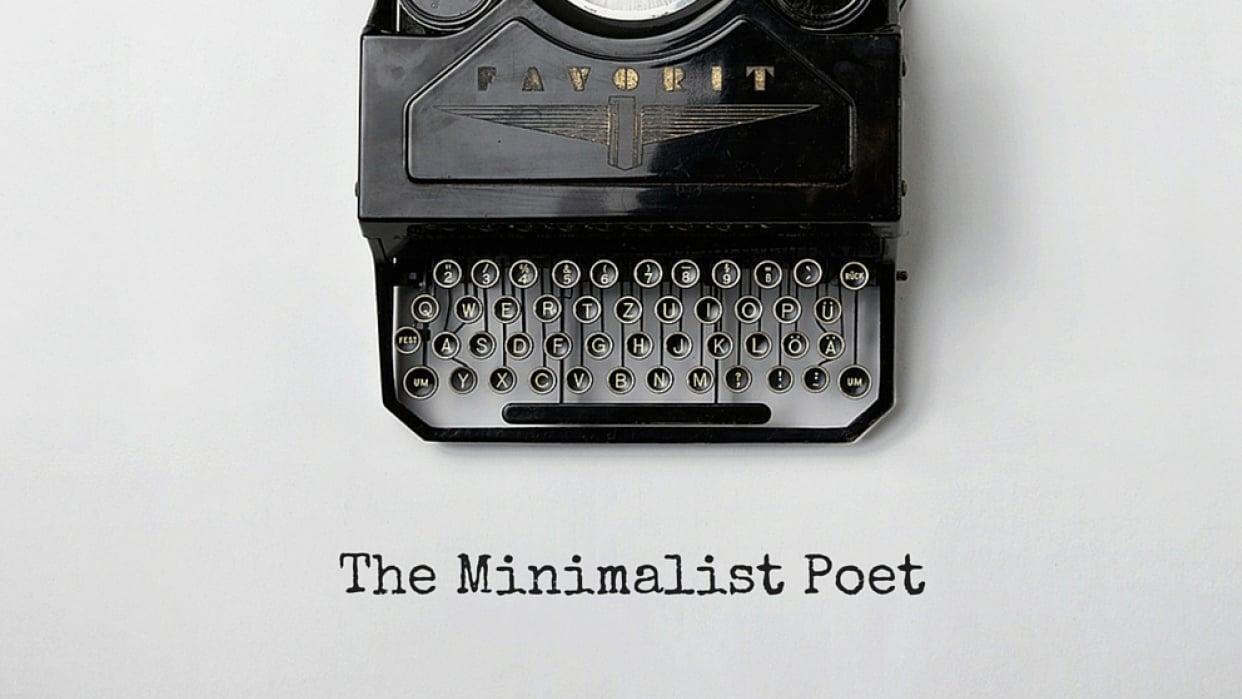 The Minimalist Poet - student project