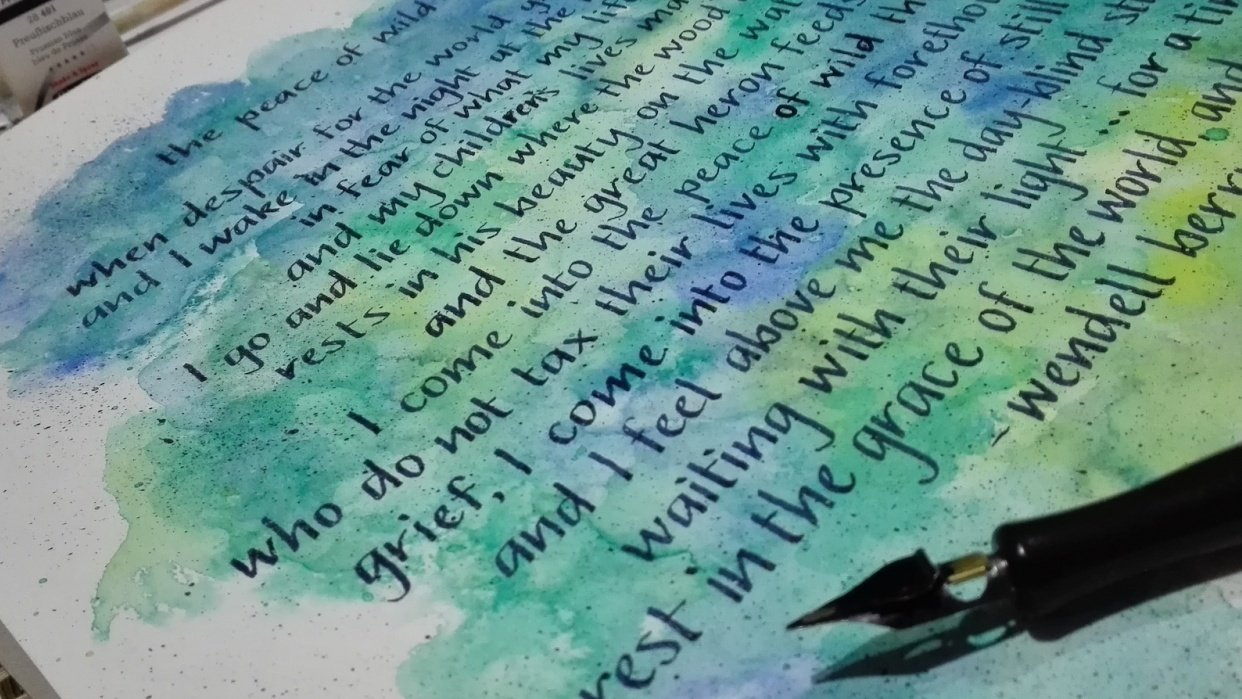 Sam's Handwriting Project - student project