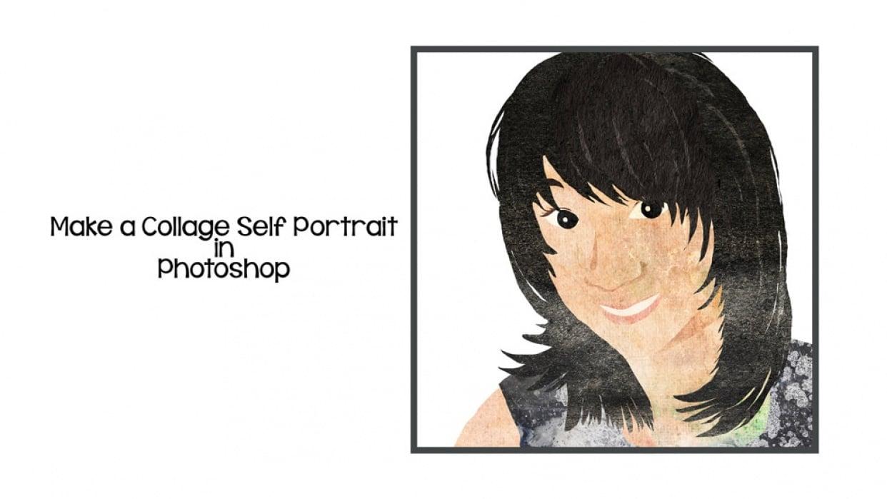 Sample Collage Portrait  - student project