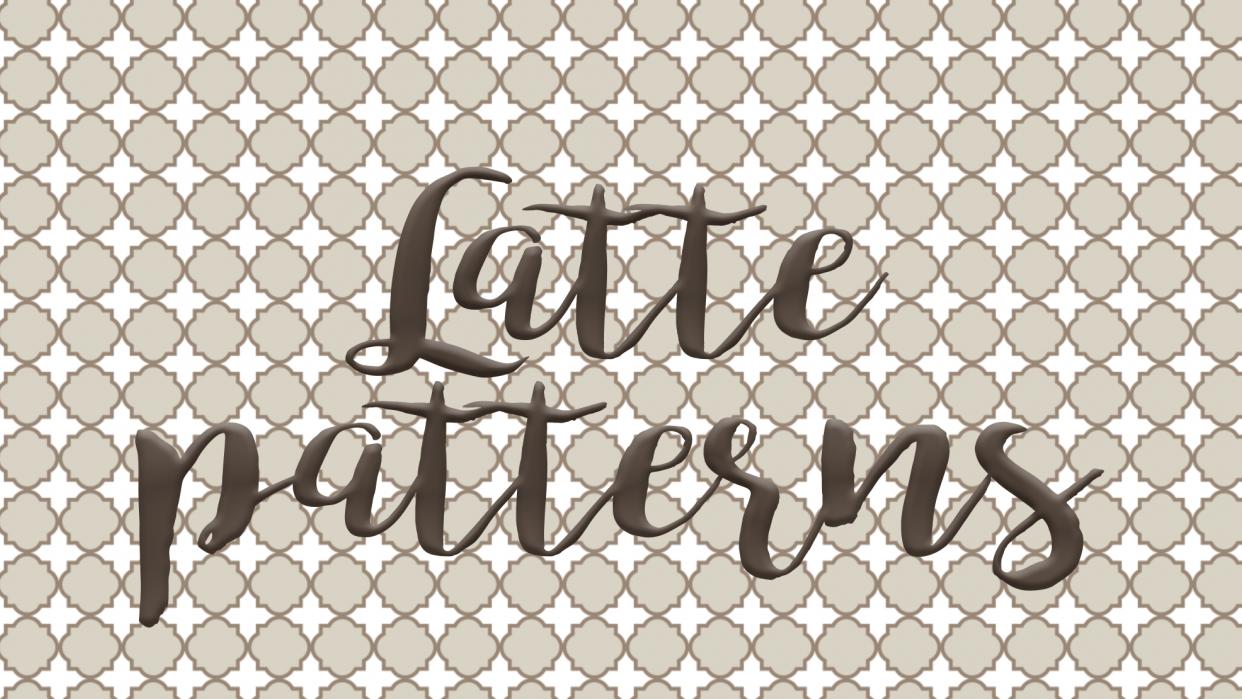 Latte patterns - student project