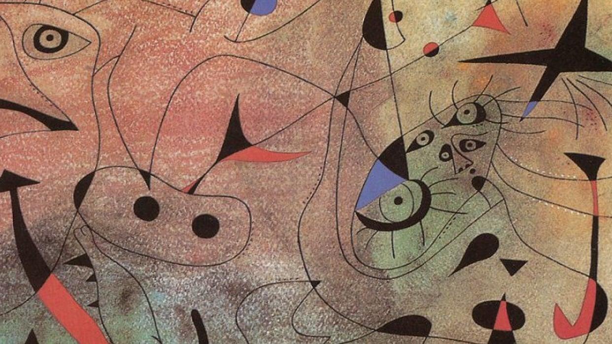 Miro a Miró - student project
