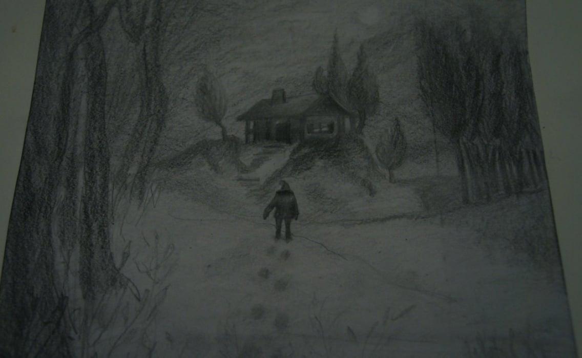 Midnight trail - student project