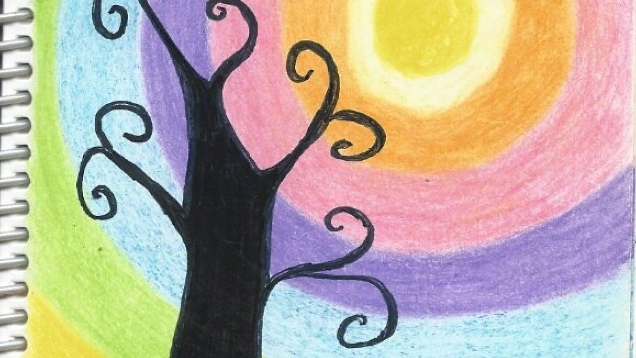 Swirly Tree - student project