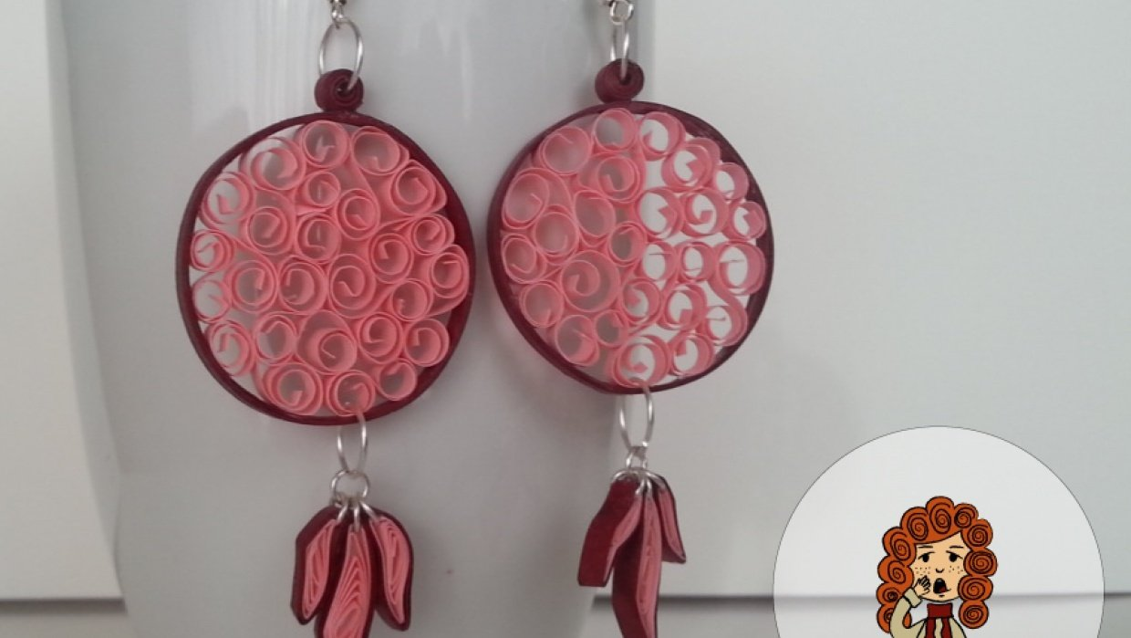 Quilling Earings! - student project