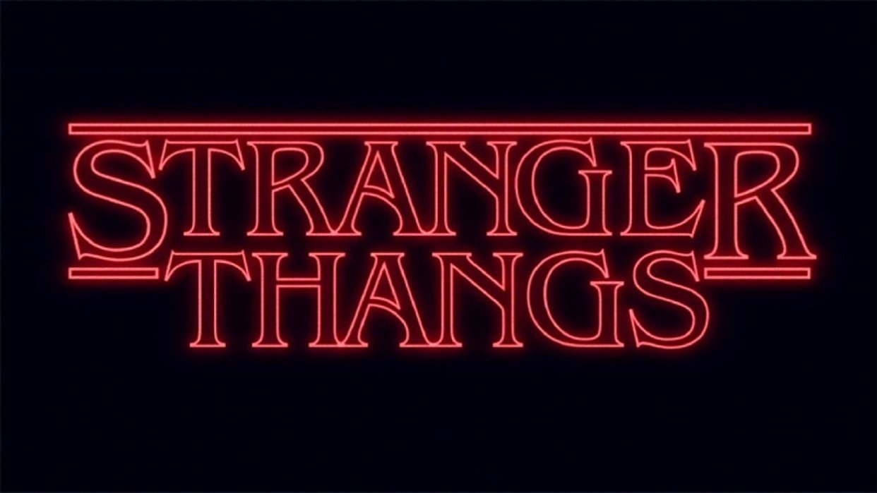 Stranger Thangs - student project
