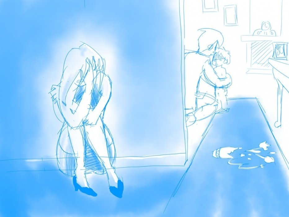 Why is Mommy crying? (Updated! Scene improved!) - student project