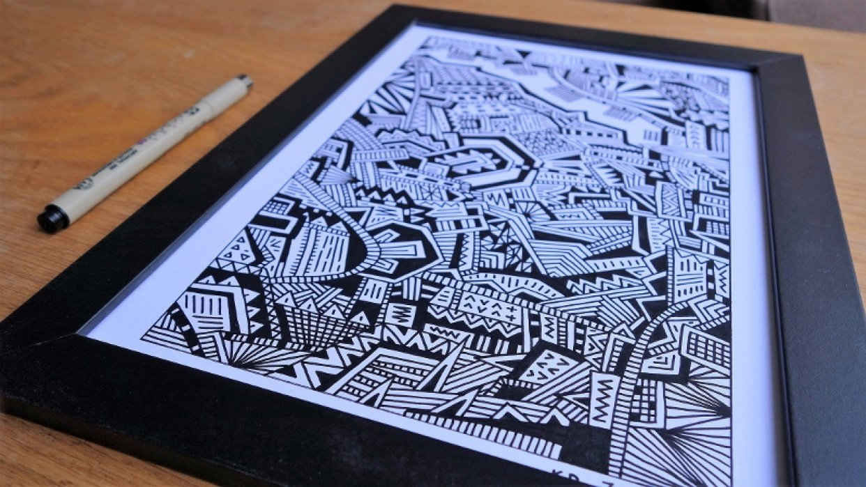 Doodle Art: Sample Project - student project