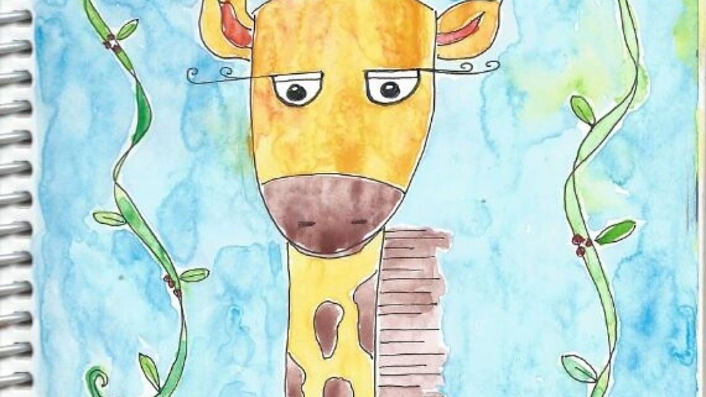 Jolie Giraffe - student project