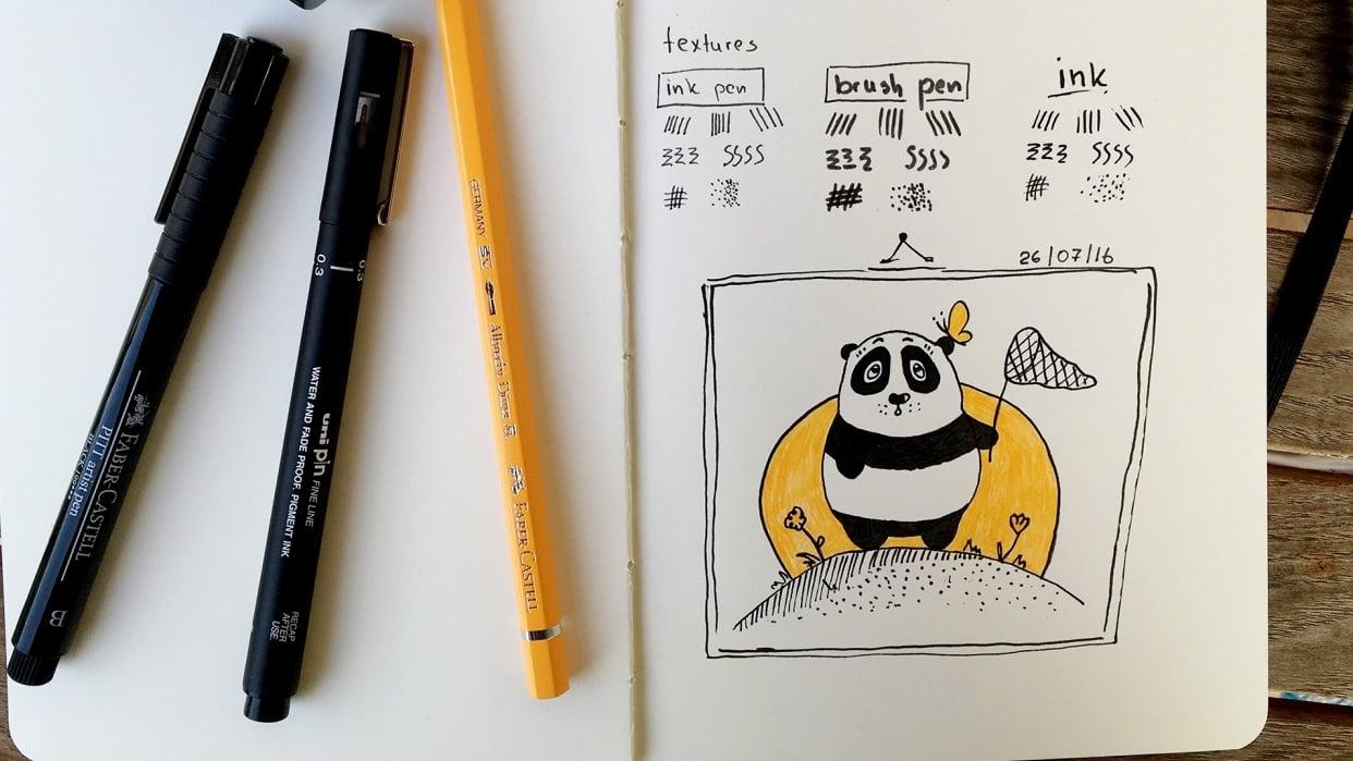 Little panda - student project
