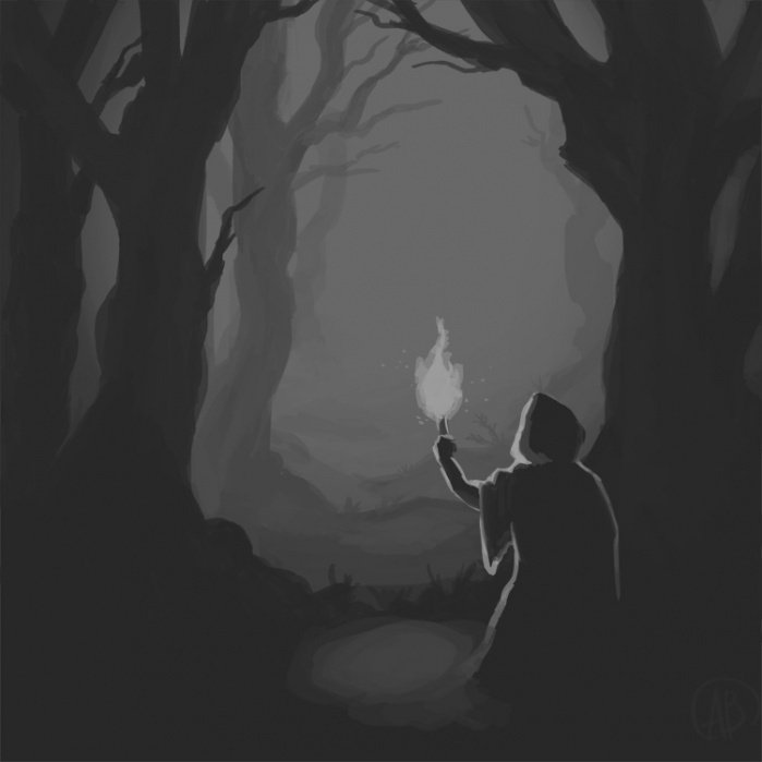 The Dark Woods - student project