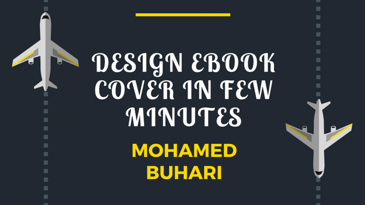 Design EBook Cover In Few Minutes - student project