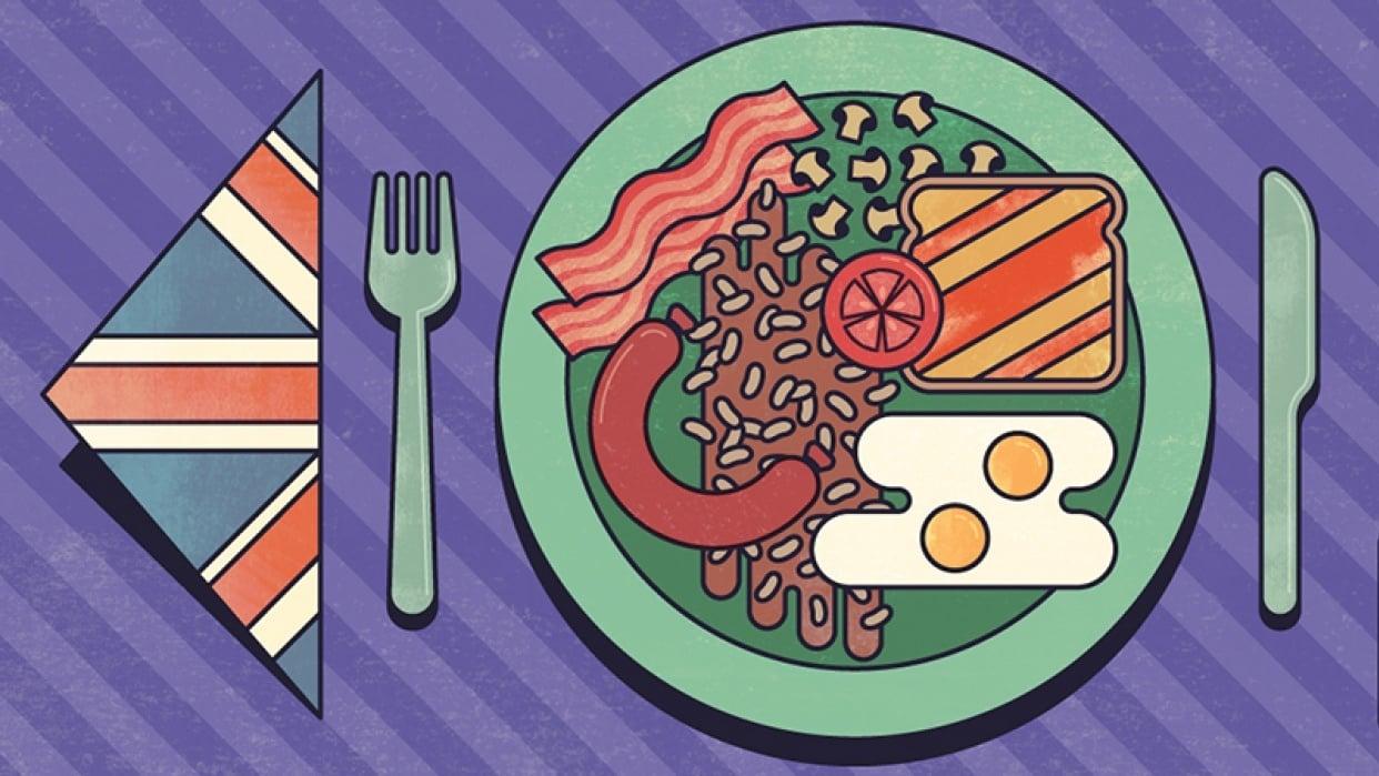 British Breakfast - student project
