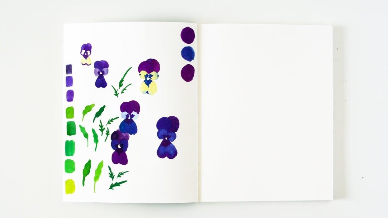 My Sample Sketchbook - student project