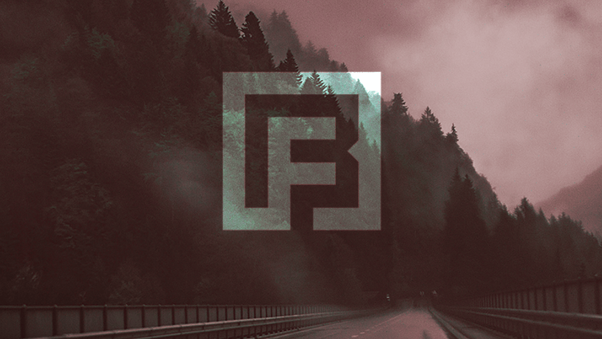 Fred Bednarski Monogram / Personal Logo - student project