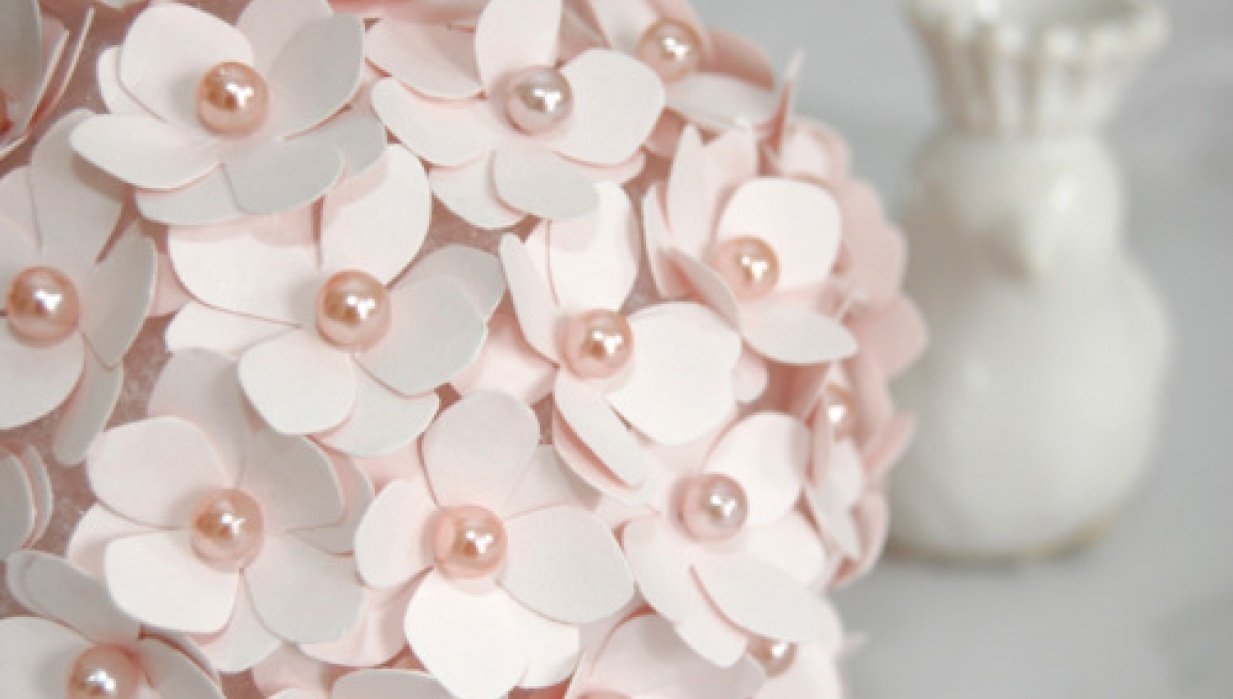 CRAFT - make beautiful paper flowers - step by step - student project