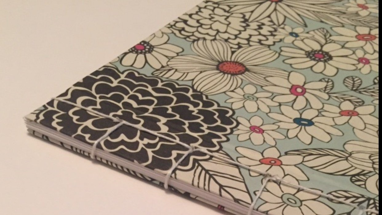 <3 Book Binding  - student project